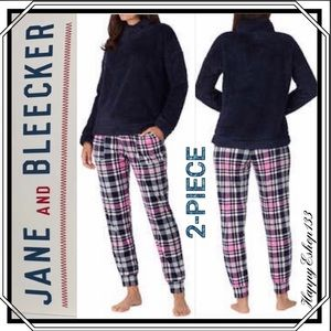 Jane and Bleecker Lounge Pjs Set,2-Piece,Very Cozy